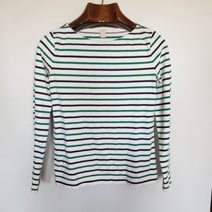 ❤ (3/$20) J. Crew // striped long sleeve